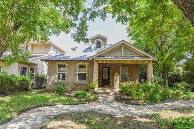Menard County, Val Verde County, Real County, Bandera County, Gonzales County, Fayette County, Bastrop County, Travis County, Williamson County, Burnet County, Llano County, Mason County, Kerr County, Blanco County, Gillespie County Single Family Home For Sale: 5101 Avenue G