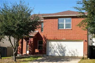 Del Valle Single Family Home For Sale: 13308 Thome Valley Dr