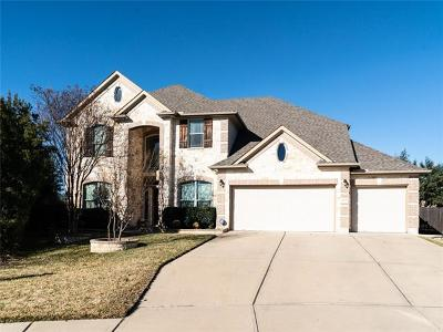 Cedar Park Single Family Home For Sale: 4003 Buckhaven Cv