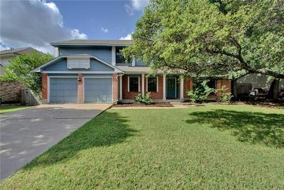 Travis County, Williamson County Single Family Home For Sale: 12331 Cahone Trl
