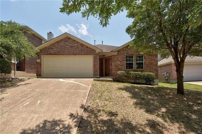 Round Rock Single Family Home For Sale: 2004 Rachel Ln
