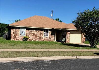 Killeen Single Family Home For Sale: 2603 Cross Timber Dr