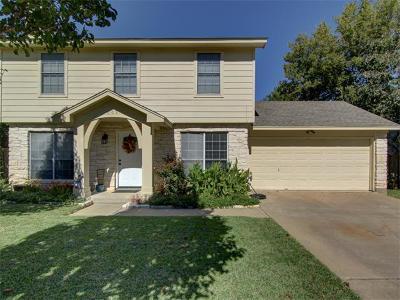 Cedar Park Single Family Home Pending - Taking Backups: 605 Amaryllis Ave