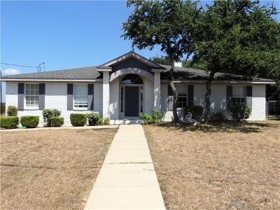 Lago Vista Single Family Home For Sale: 7900 Bar K Ranch Rd
