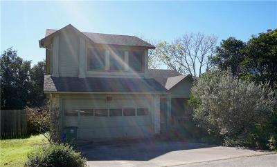 Austin Single Family Home Pending - Taking Backups: 8405 Red Willow Dr