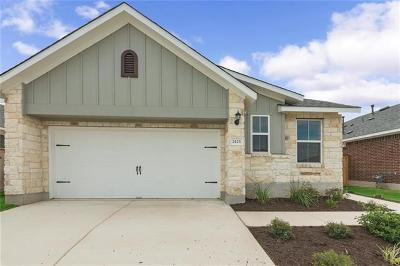 Leander Single Family Home For Sale: 2425 Burberry Ln