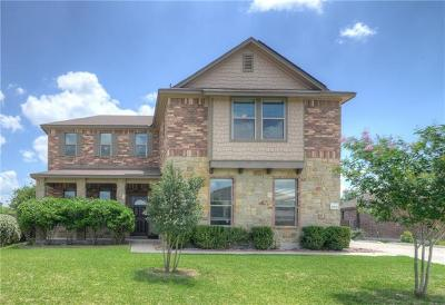 Pflugerville Single Family Home For Sale: 18836 Star Gazer Way
