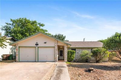 Round Rock Single Family Home Pending - Taking Backups: 510 Buffalo Pass