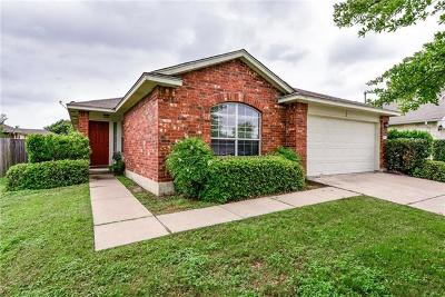 Round Rock Single Family Home For Sale: 2404 Marshall Trl