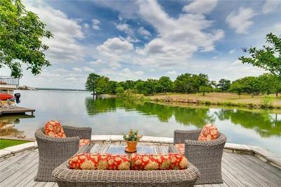 Horseshoe Bay Single Family Home For Sale: 115 Bay Point Dr