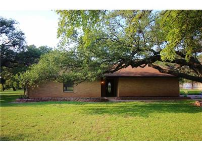 Round Rock Single Family Home For Sale: 4418 Sam Bass Rd
