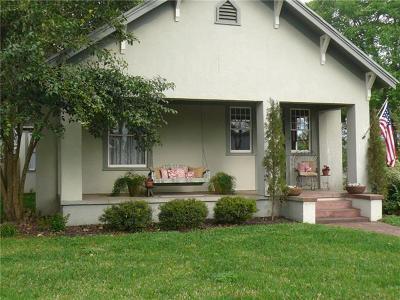 Smithville Single Family Home Pending - Taking Backups: 705 Burleson St