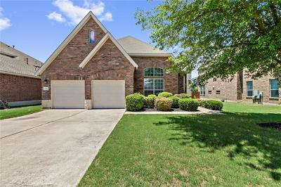 Round Rock Single Family Home For Sale: 3852 Harvey Penick Dr