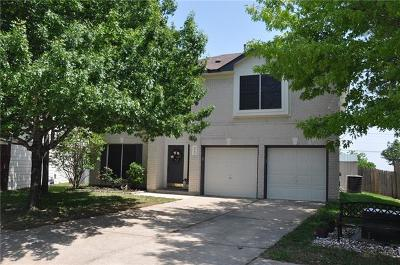 Round Rock Single Family Home For Sale: 1607 Jennifer Ct