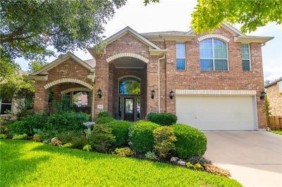 Cedar Park Single Family Home For Sale: 3102 Cashell Wood Dr