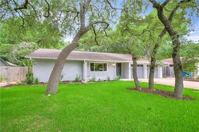 Austin Single Family Home For Sale: 11714 Broad Oaks Dr