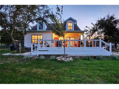 Dripping Springs Single Family Home For Sale: 2291 Spring Valley Dr
