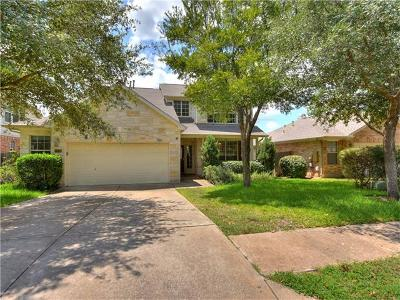 Round Rock Single Family Home For Sale: 7406 W Magic Mountain Ln