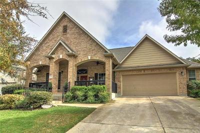 Round Rock Single Family Home Pending - Taking Backups: 1127 Winding Creek Pl