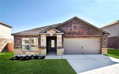 Manor Single Family Home For Sale: 13704 Charles W. Fairbanks Cv