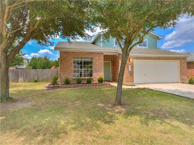 Leander Single Family Home For Sale: 105 Cannery Cv