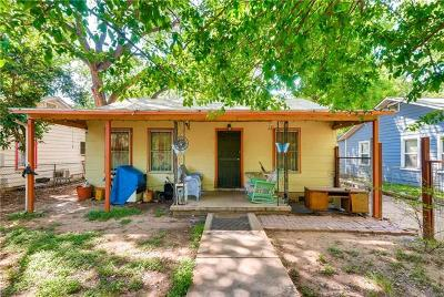 Travis County Single Family Home For Sale: 734 Gunter St