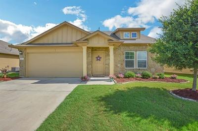 Hutto Single Family Home For Sale: 806 Mitchell Dr