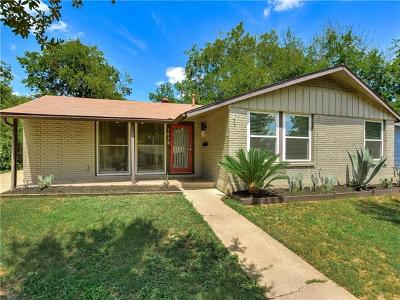 Austin Single Family Home For Sale: 1412 Broadmoor Dr