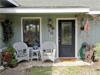 Lago Vista Single Family Home For Sale: 8206 Bronco Ln