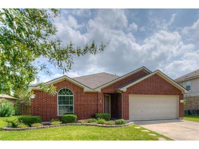 Hutto Single Family Home For Sale: 112 Inman Dr