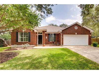 Cedar Park Single Family Home For Sale: 1402 Desert Willow Pl