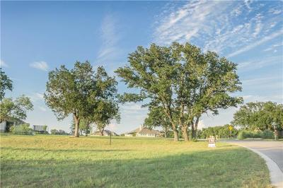 Liberty Hill Residential Lots & Land For Sale: 405 Golden Eagle Way