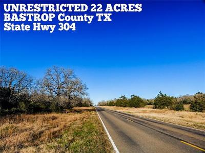 Rosanky Residential Lots & Land For Sale: 22-ac State Hwy 304