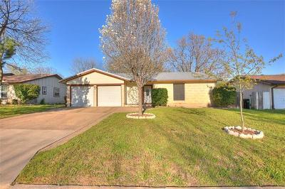 Round Rock TX Single Family Home For Sale: $209,900
