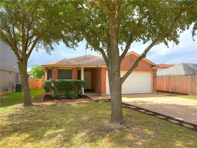 Pflugerville Single Family Home Pending - Taking Backups: 17337 Tobermory Dr