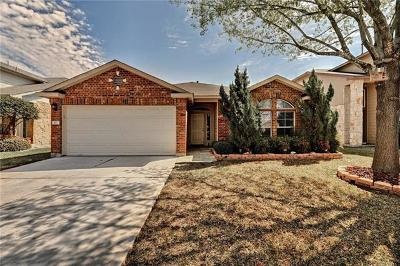 Round Rock Single Family Home For Sale: 417 Fort Thomas Pl
