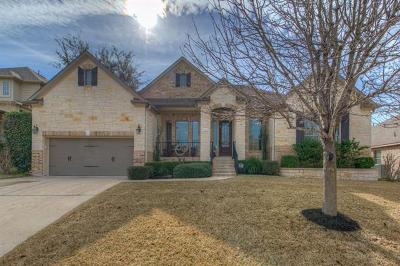 Round Rock Single Family Home Active Contingent: 2813 W Piper Sonoma Ct