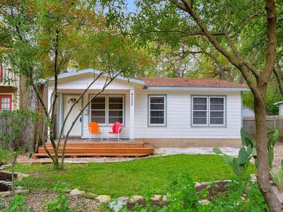 Austin Single Family Home For Sale: 4522 Speedway