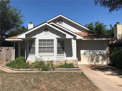 Single Family Home For Sale: 16820 Whitebrush Loop