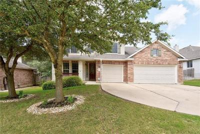 Leander Single Family Home Pending - Taking Backups: 2405 Silver Spur Ln