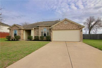 Leander Single Family Home Pending - Taking Backups: 1006 North Creek Blvd