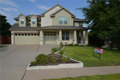 Cedar Park Single Family Home For Sale: 2312 Dervingham Dr