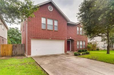 Cedar Park Single Family Home Pending - Taking Backups: 1908 Carriage Club Dr