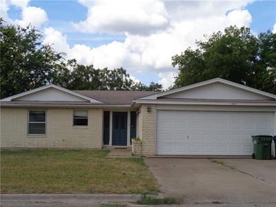 Burnet County Single Family Home For Sale: 700 N Rhomberg St