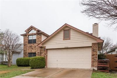 Travis County Single Family Home Pending - Taking Backups: 2002 Ploverville Ln