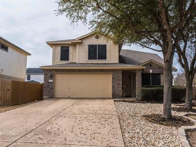 Cedar Park Single Family Home For Sale: 503 Dry Bean Cv