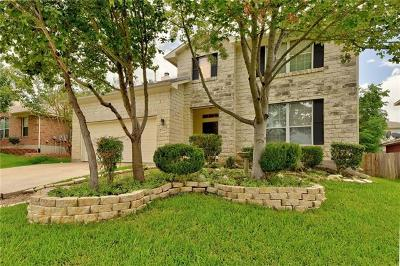 Georgetown Single Family Home For Sale: 2306 Rock Ledge Dr