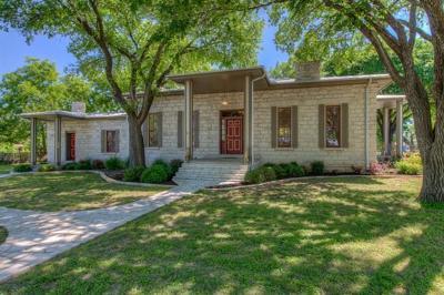 Burnet Single Family Home For Sale: 402 E Johnson St