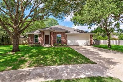 Hays County, Travis County, Williamson County Single Family Home Pending - Taking Backups: 5204 Colusa Ct