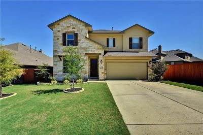 Leander Single Family Home For Sale: 908 Feather Reed Dr